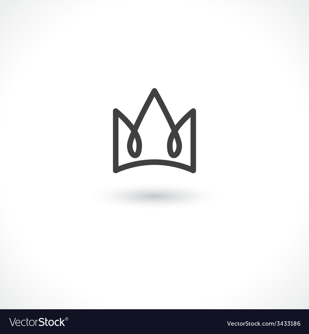 Crown king vector | Price: 1 Credit (USD $1)