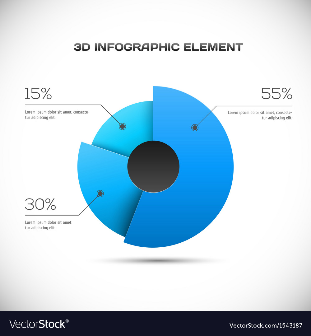 3d infographic design vector | Price: 1 Credit (USD $1)