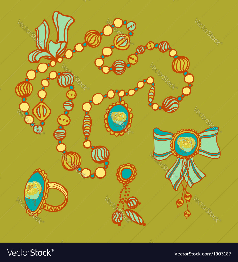 Colourful beads vector | Price: 1 Credit (USD $1)