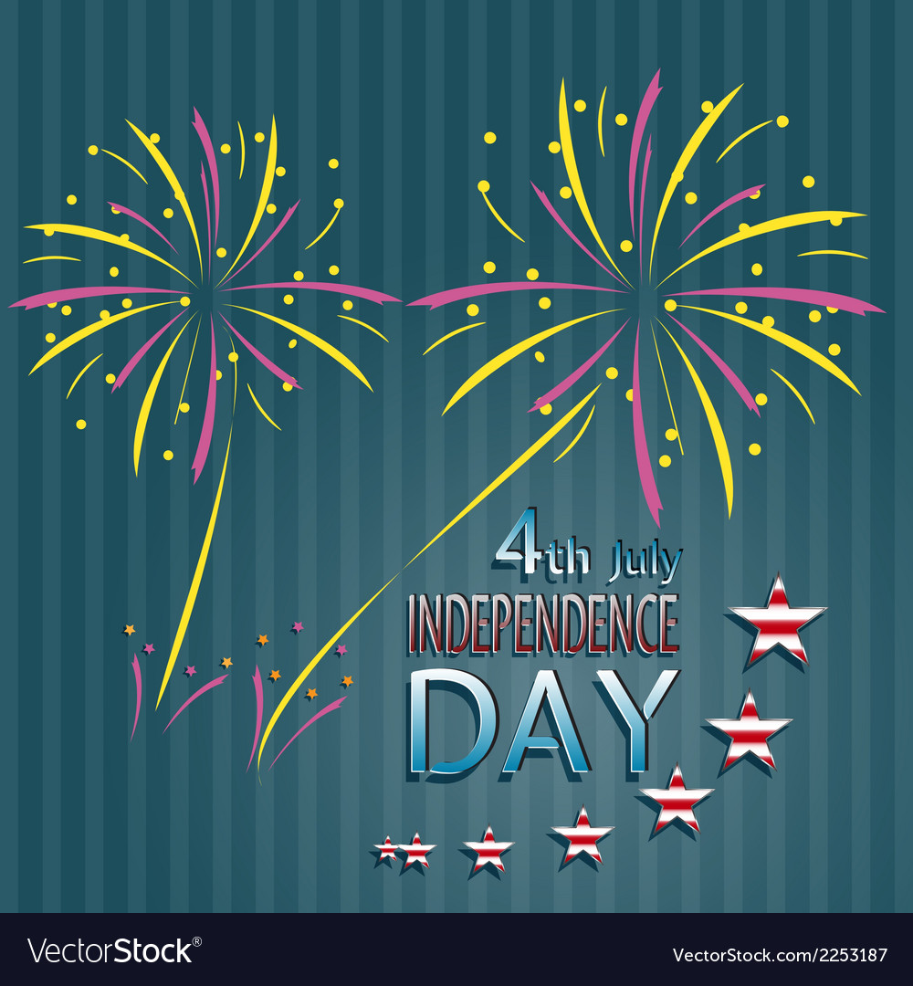 Independence day vector | Price: 1 Credit (USD $1)