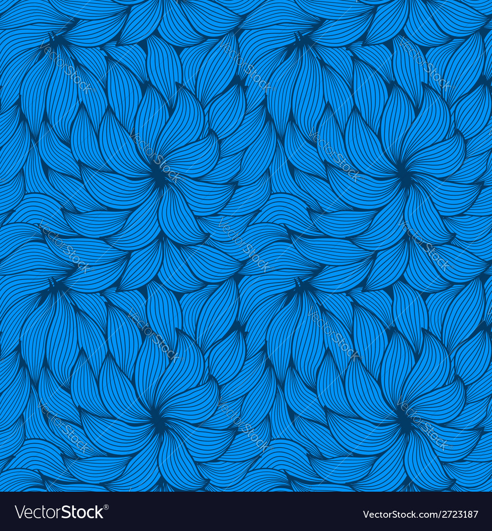 Seamless pattern of curls vector | Price: 1 Credit (USD $1)