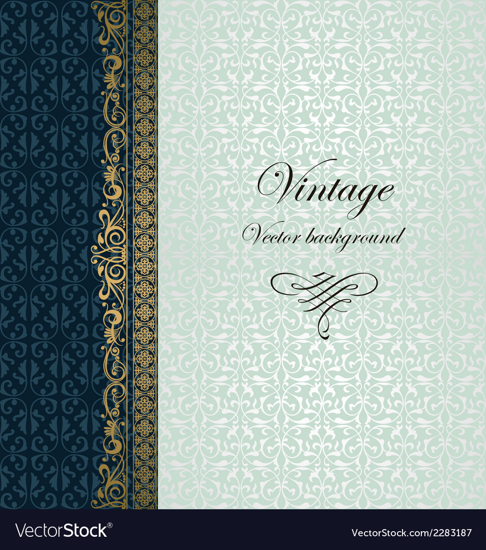 Vintage background vector | Price: 1 Credit (USD $1)