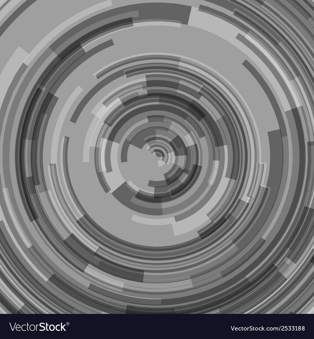 Abstract technology circles vector | Price: 1 Credit (USD $1)