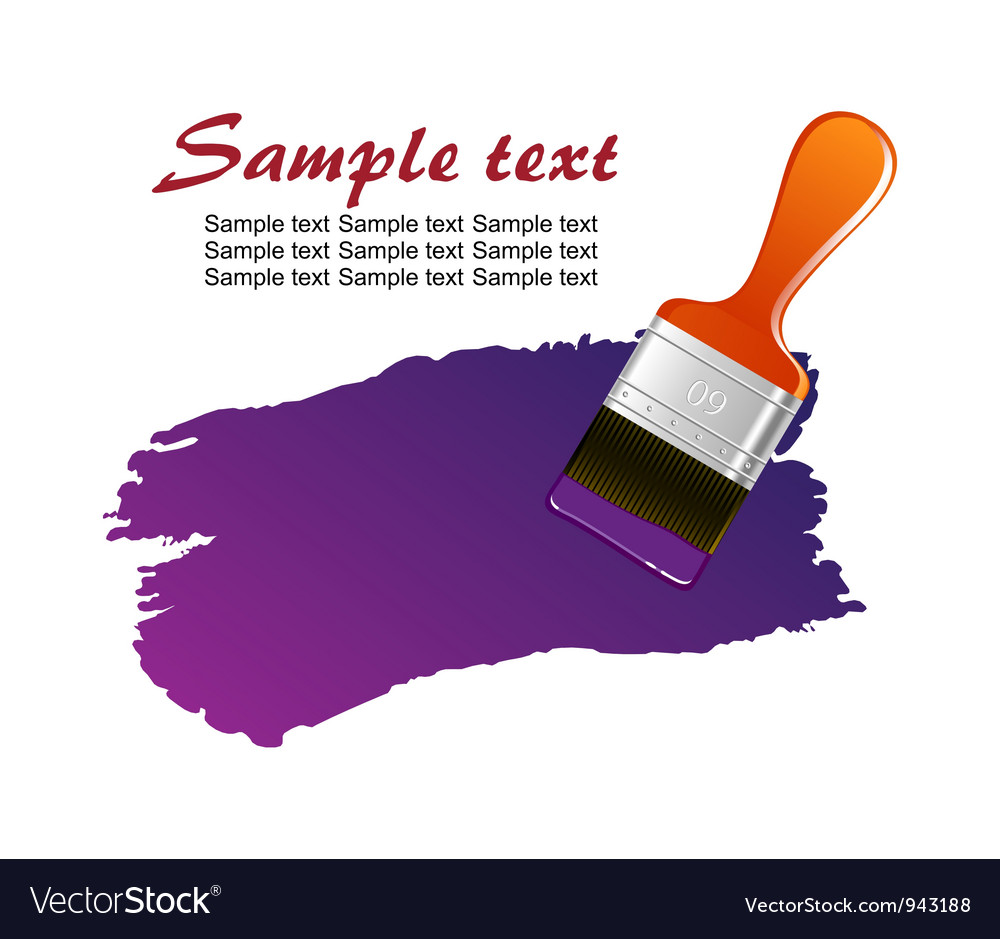 Brush trace vector | Price: 1 Credit (USD $1)