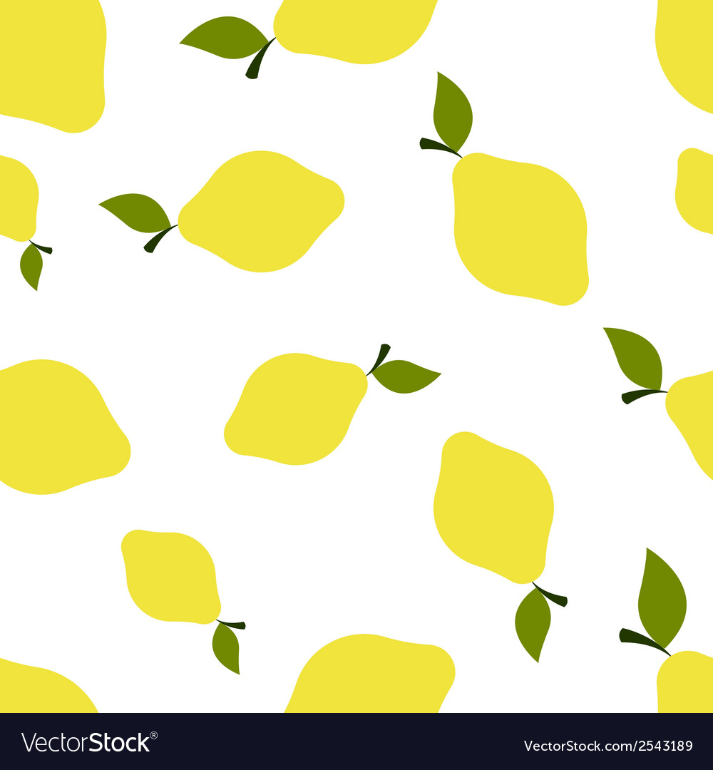 Pattern silhouette lemons vector | Price: 1 Credit (USD $1)