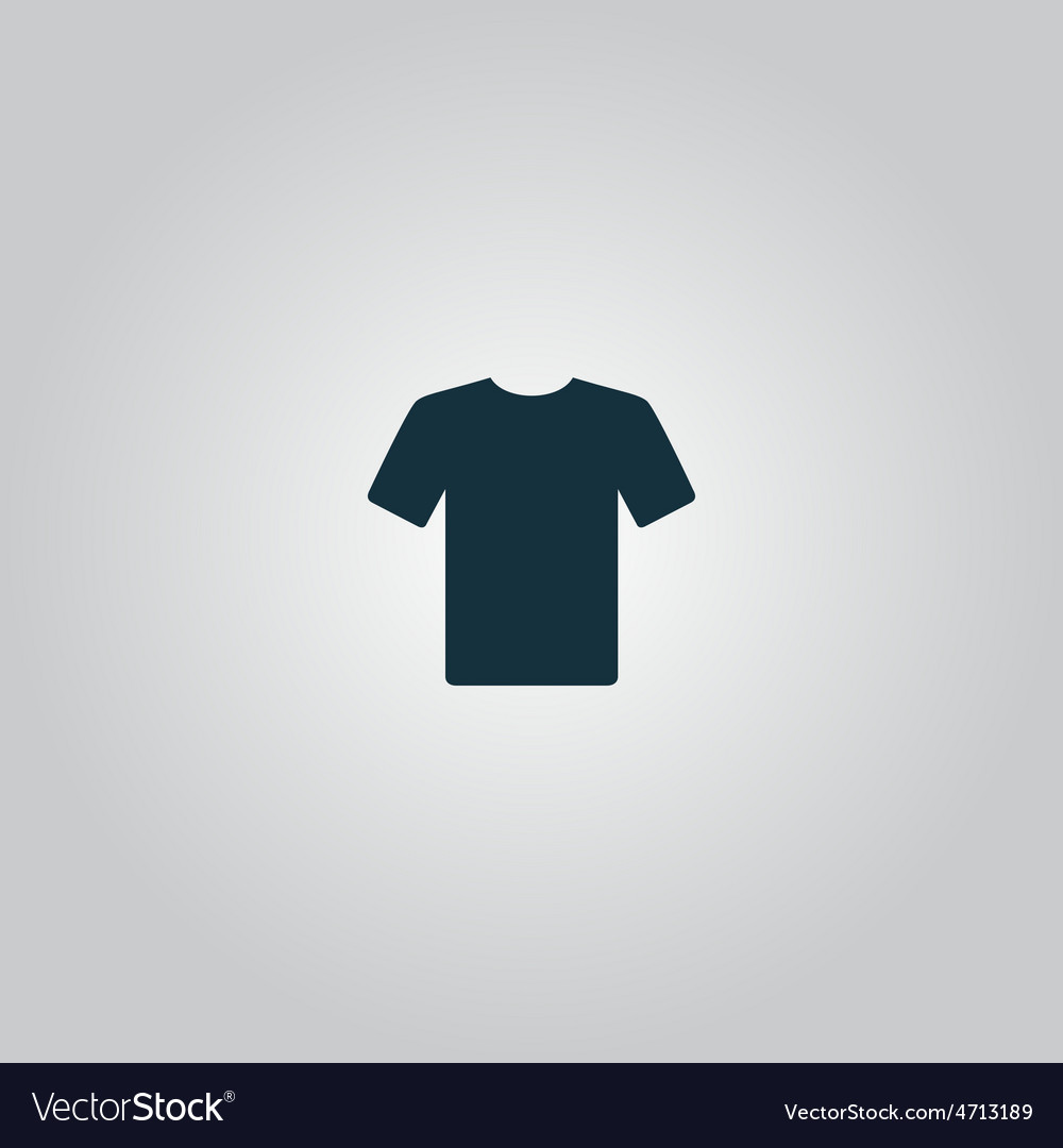 Tshirt icon  flat design vector   Price: 1 Credit (USD $1)