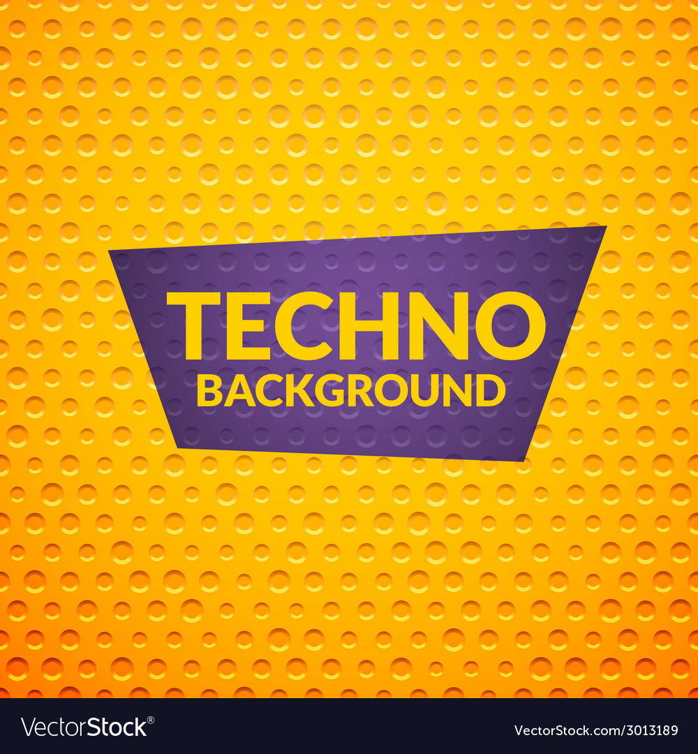 Yellow metal or plastic texture with holes vector   Price: 1 Credit (USD $1)