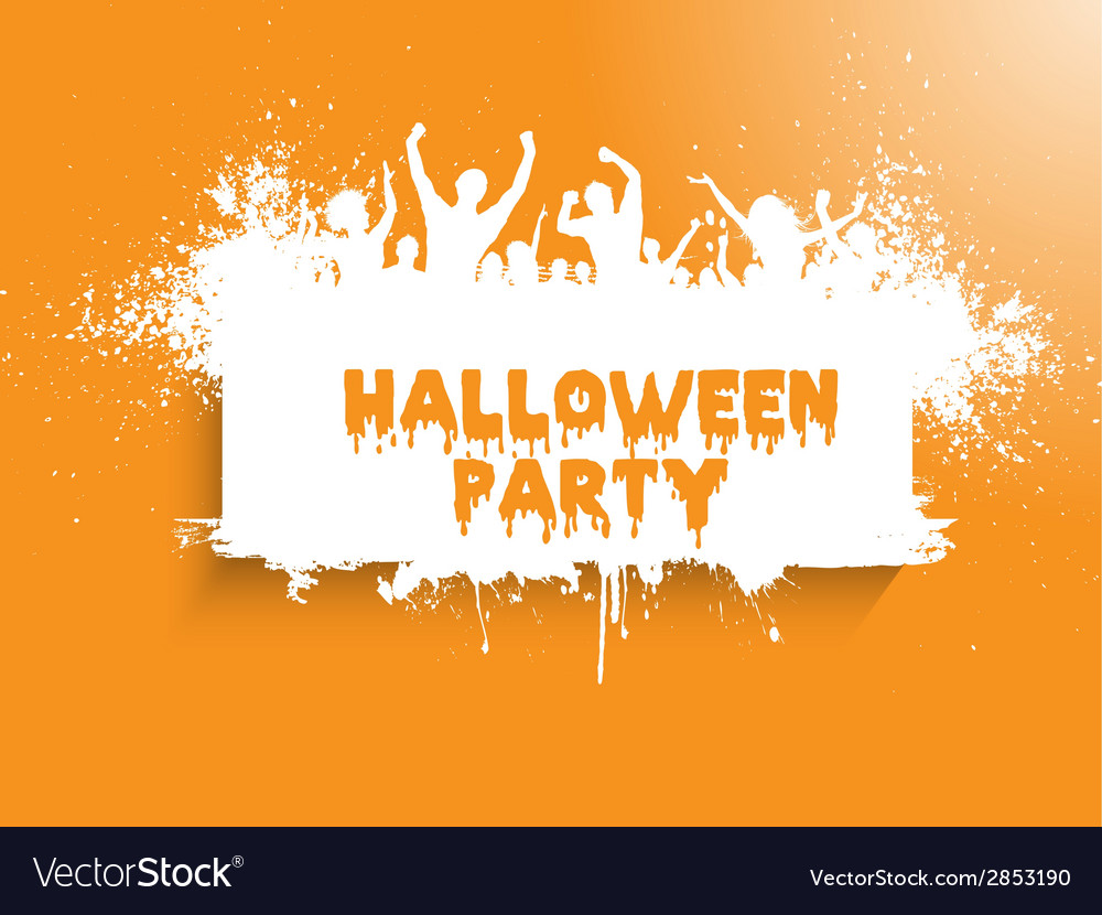 Grunge halloween party 2508 vector | Price: 1 Credit (USD $1)