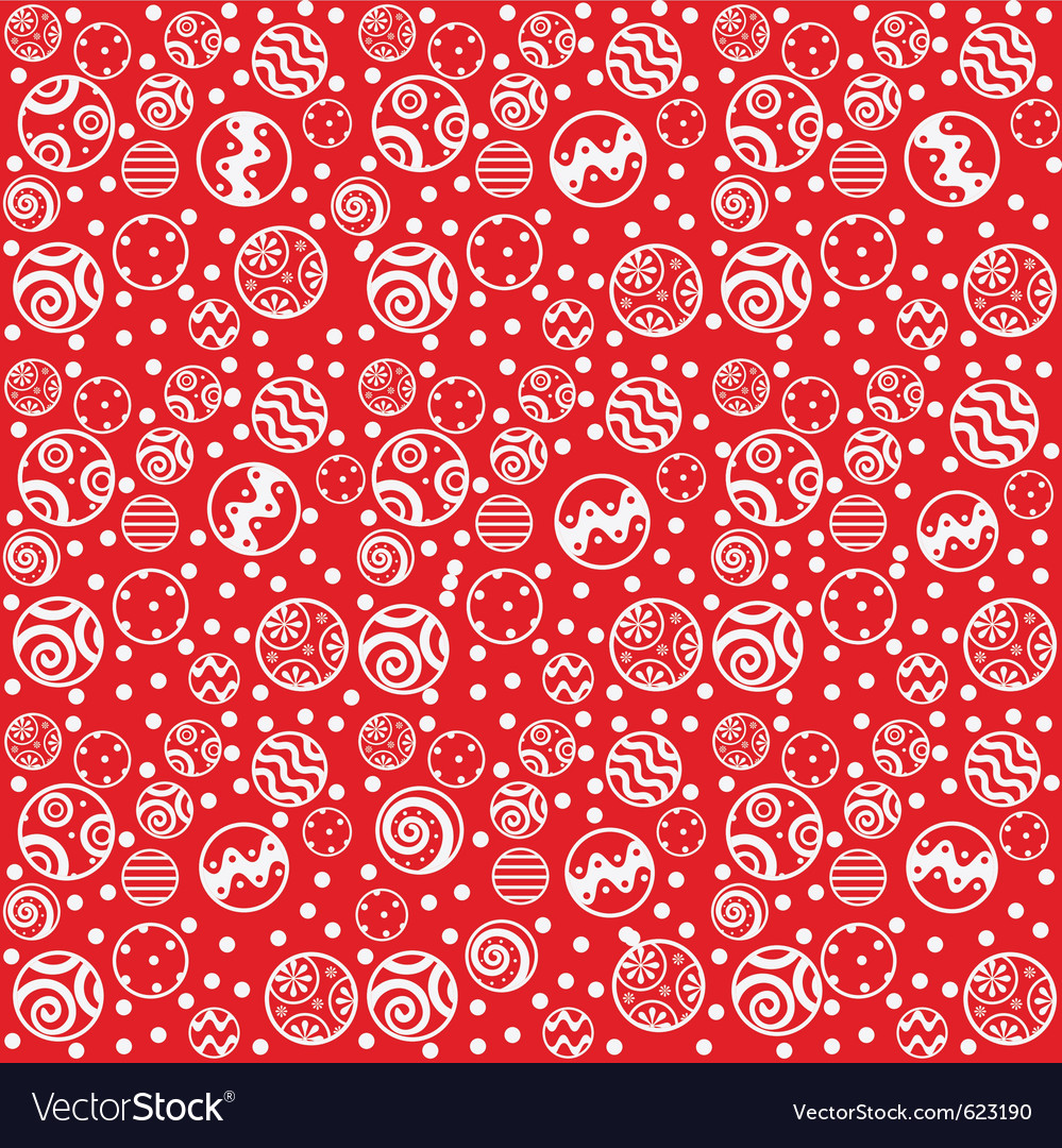 Red christmas seamless background vector   Price: 1 Credit (USD $1)