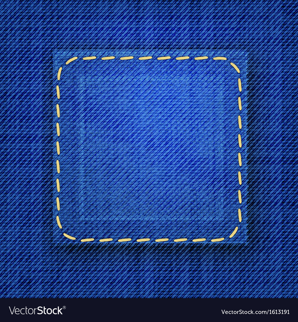 Abstract jeans background vector | Price: 1 Credit (USD $1)