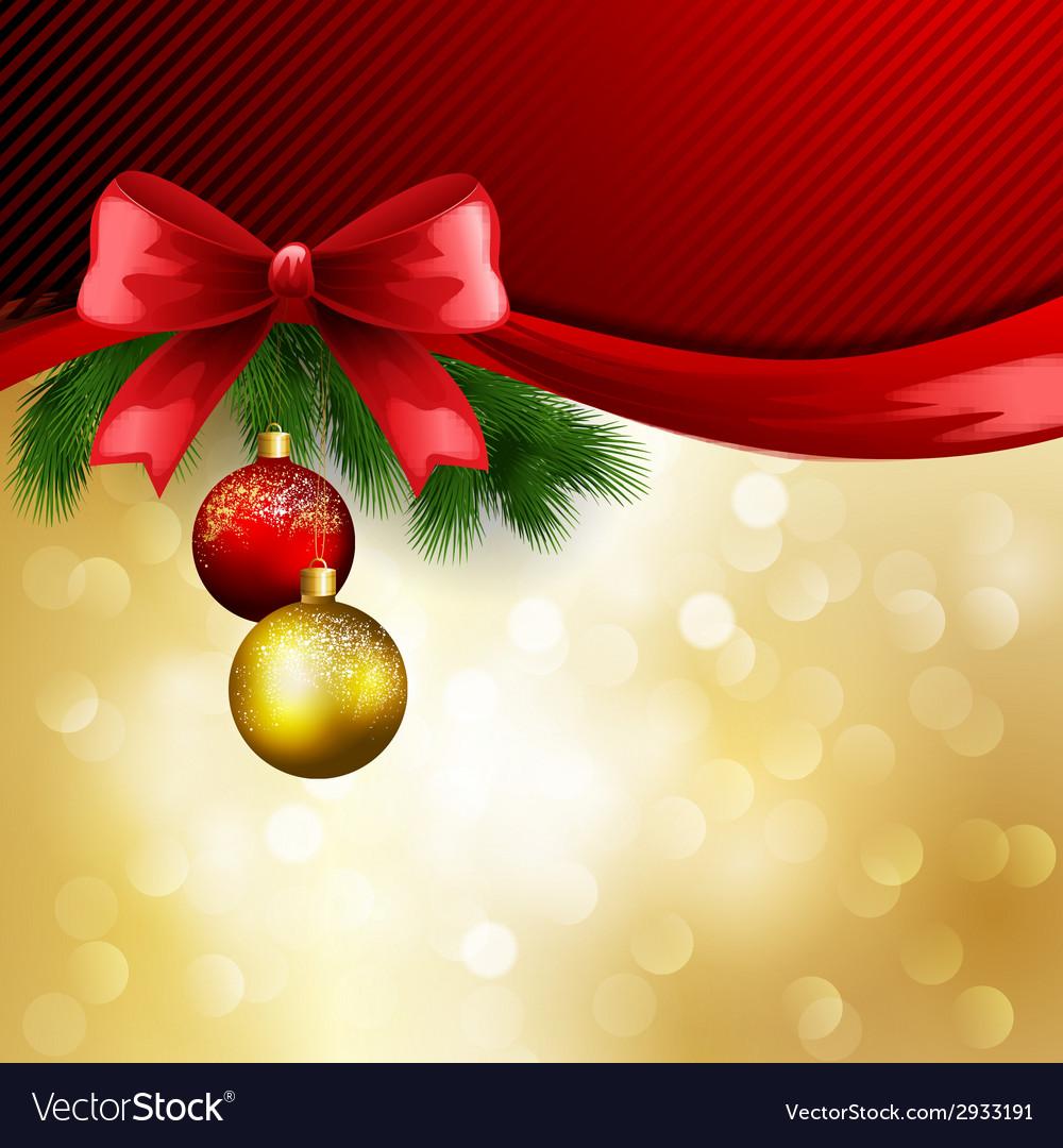 Christmas greeting vector | Price: 1 Credit (USD $1)