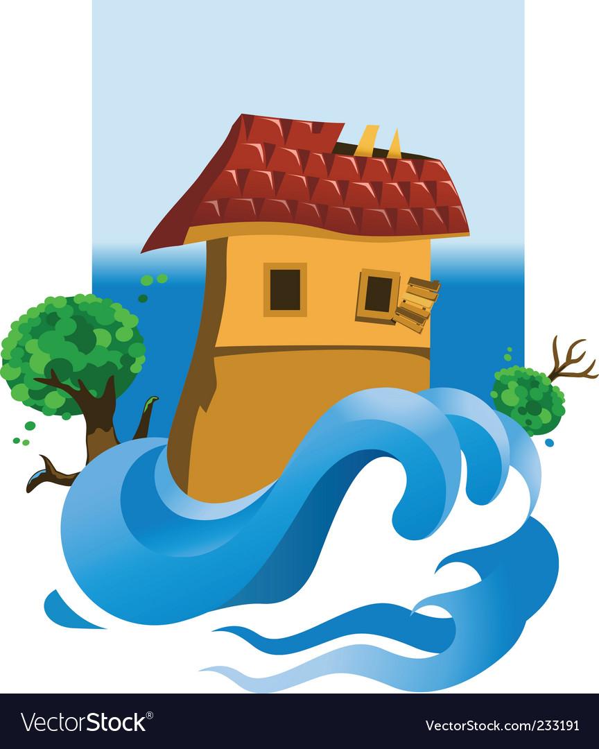 Flood vector | Price: 3 Credit (USD $3)