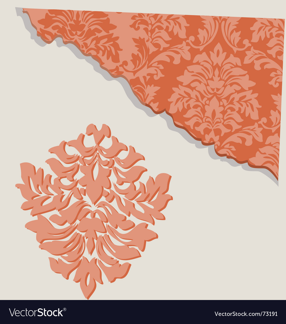 Floral segment vector | Price: 1 Credit (USD $1)