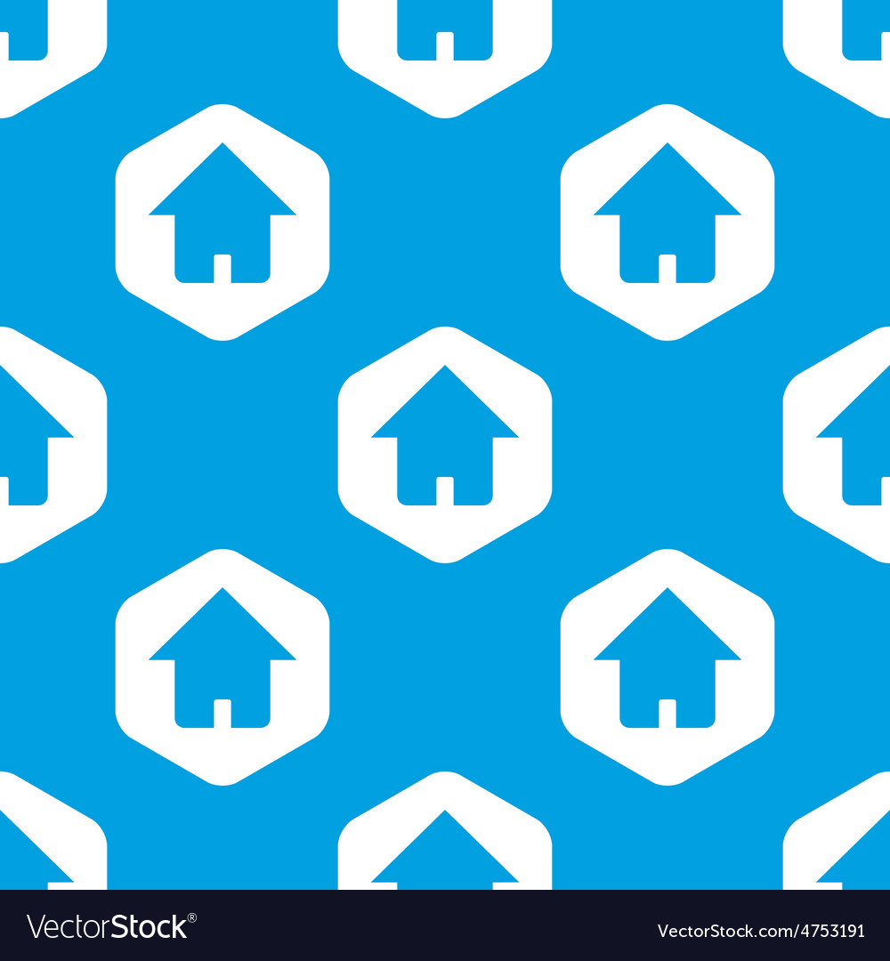 House hexagon pattern vector   Price: 1 Credit (USD $1)