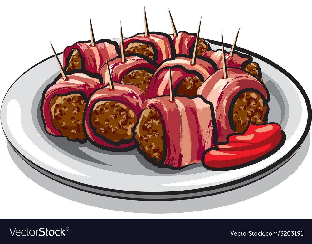 Meatballs vector | Price: 3 Credit (USD $3)