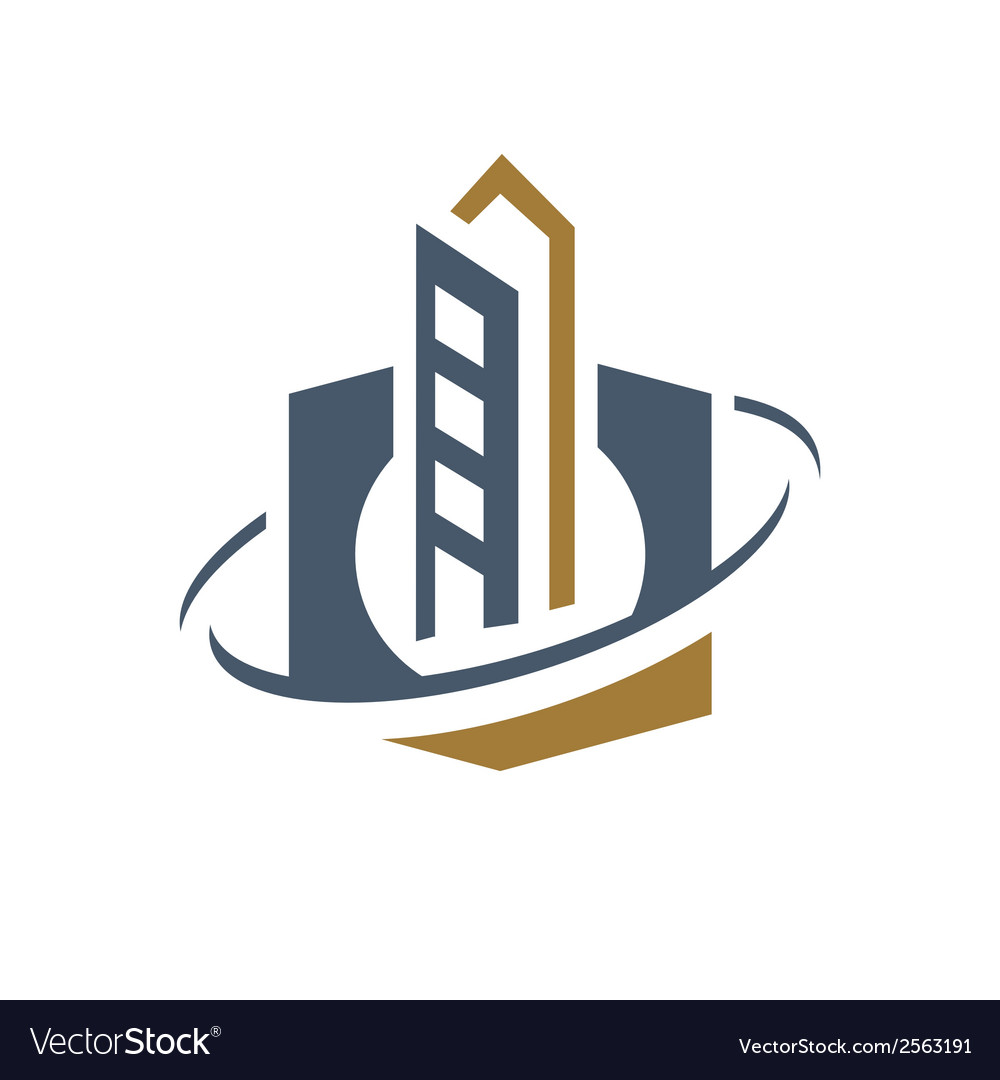 Spaceport space industry sign vector | Price: 1 Credit (USD $1)