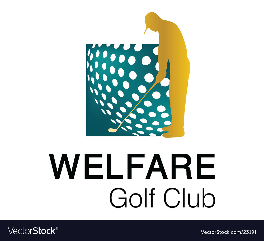 Welfare golf club 1 logo vector | Price: 1 Credit (USD $1)