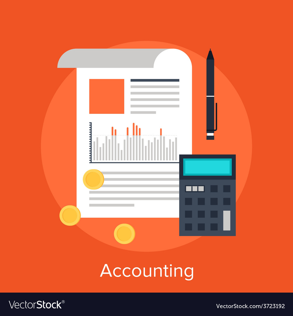 Accounting vector | Price: 1 Credit (USD $1)
