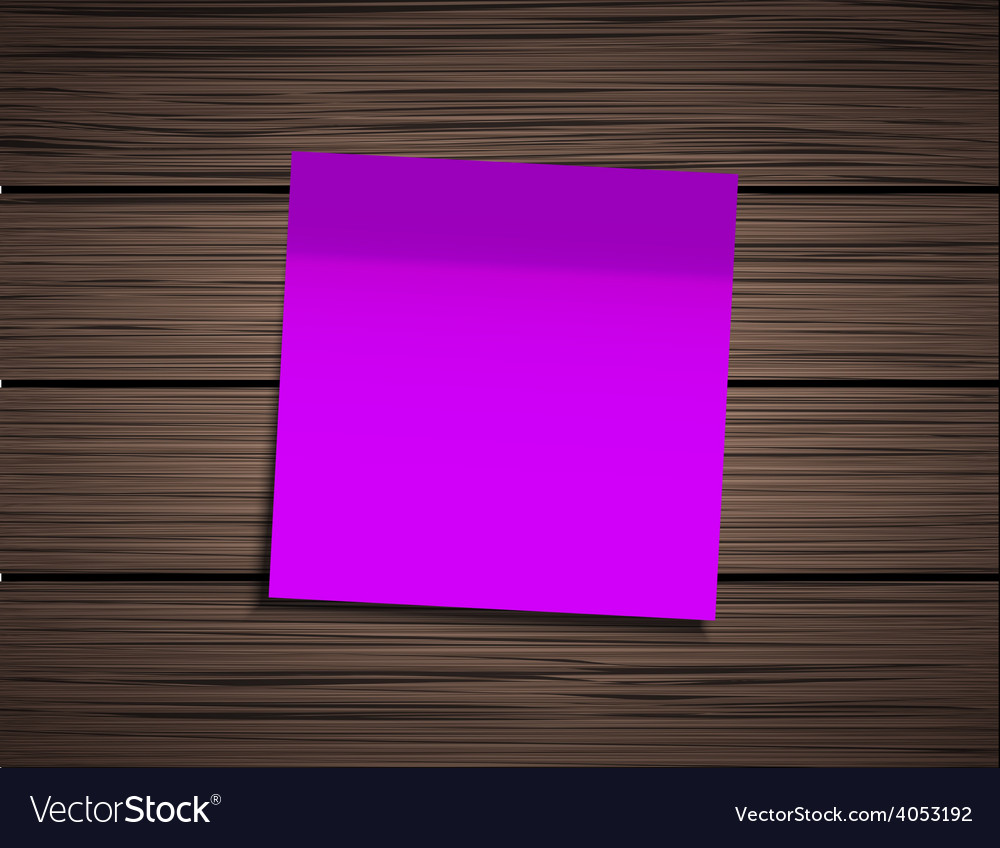Modern square sticky note vector | Price: 1 Credit (USD $1)