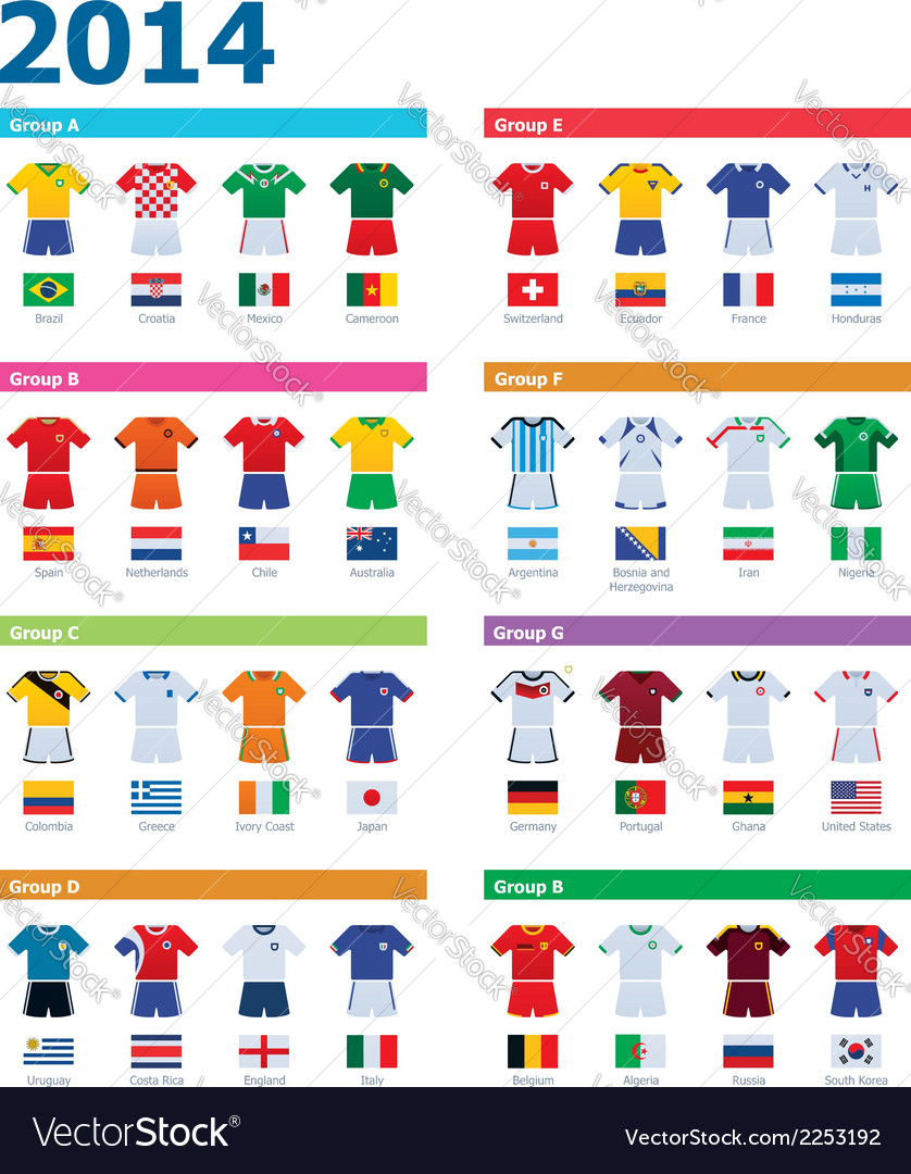 Soccer championship colours vector | Price: 1 Credit (USD $1)
