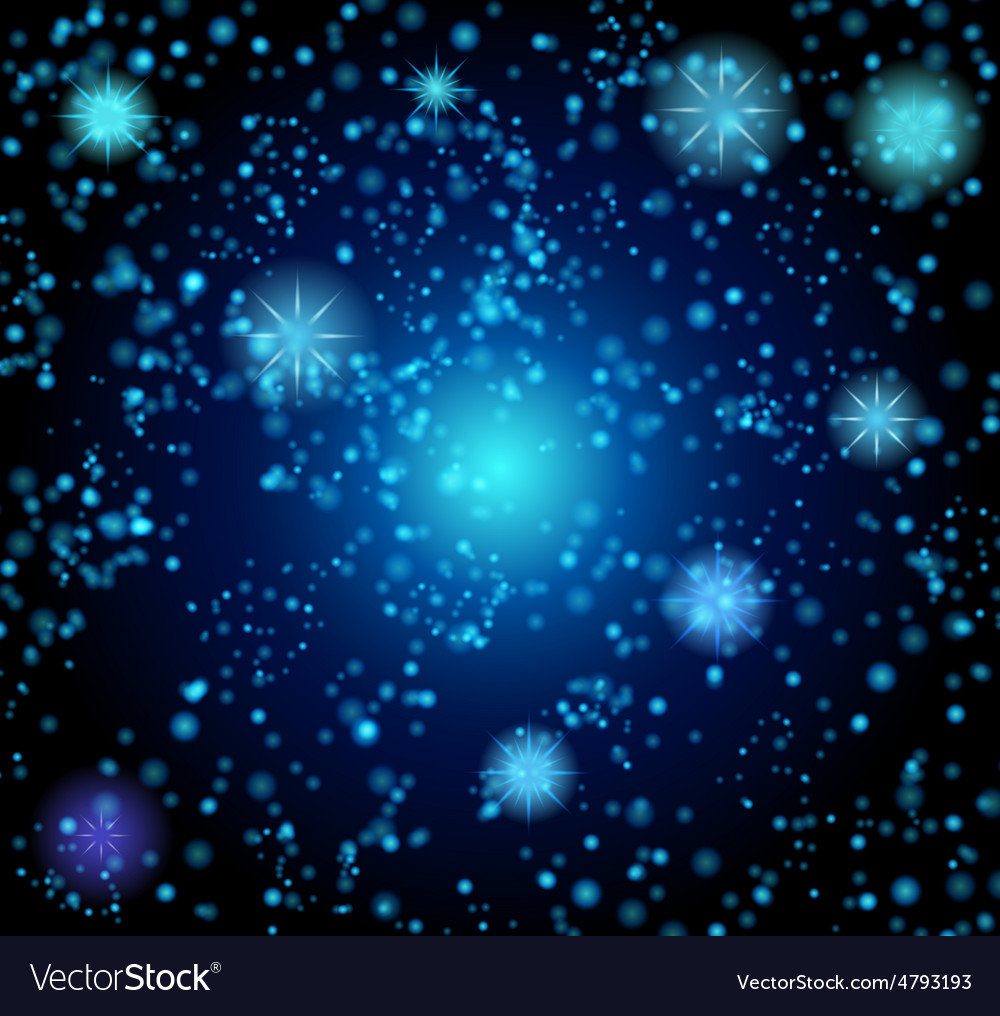 Background in the form of a starry sky vector | Price: 1 Credit (USD $1)