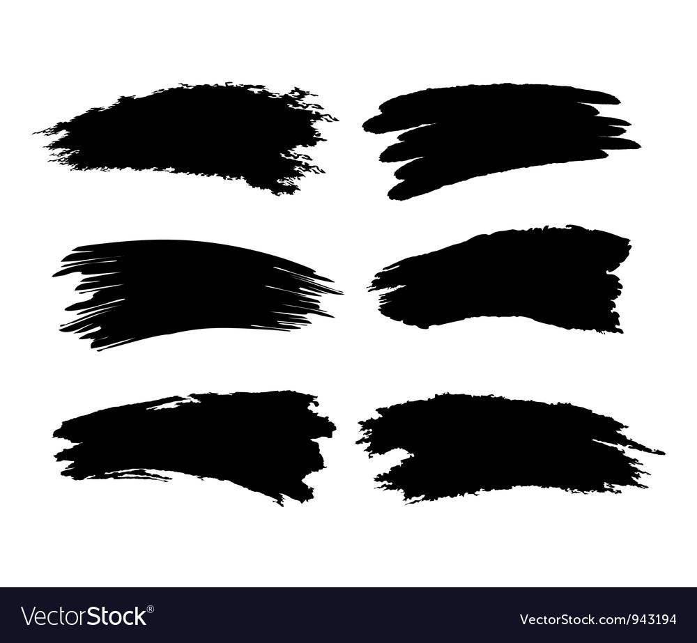 Brush trace vector | Price: 1 Credit (USD $1)