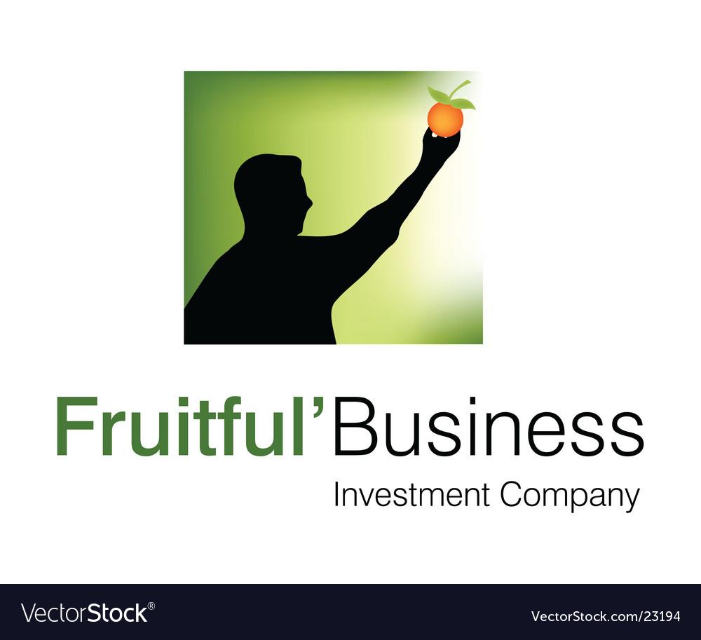 Fruitful business logo vector | Price: 1 Credit (USD $1)