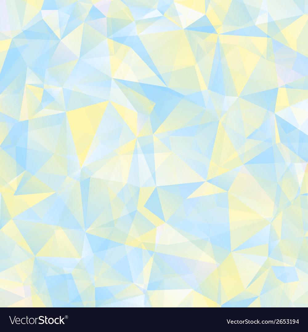 Triangle geometric retro background vector | Price: 1 Credit (USD $1)