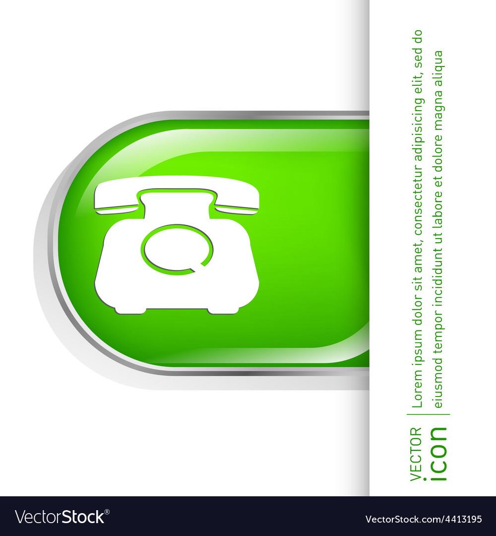 Classic retro phone vector | Price: 1 Credit (USD $1)