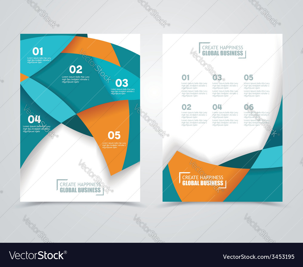 Geometric design business banners vector | Price: 1 Credit (USD $1)