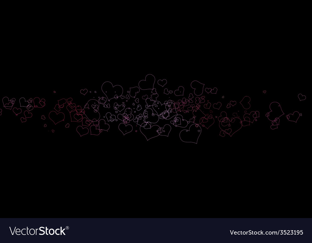 Sparkling heart love concept vector | Price: 1 Credit (USD $1)