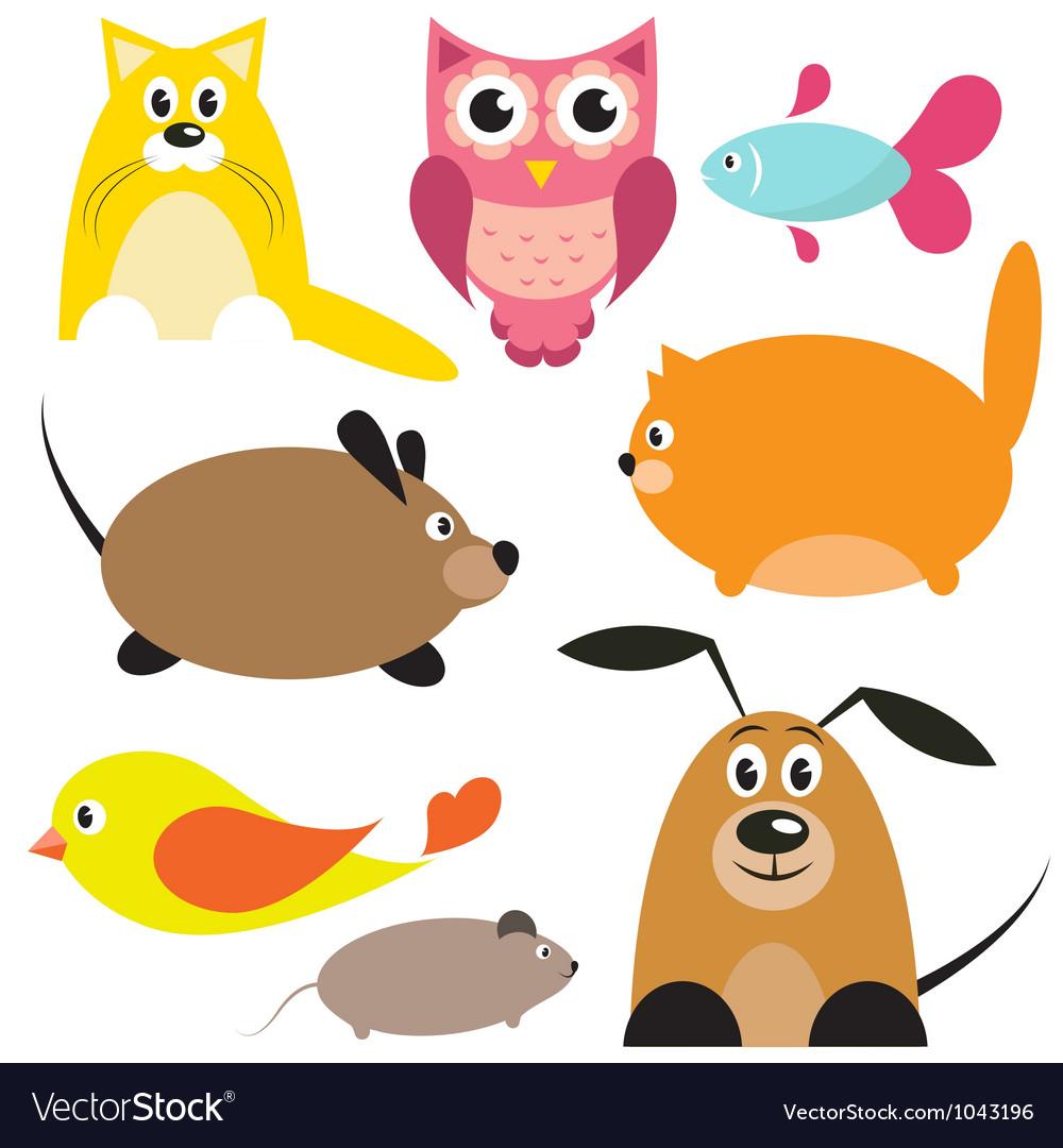 Animals vector | Price: 1 Credit (USD $1)