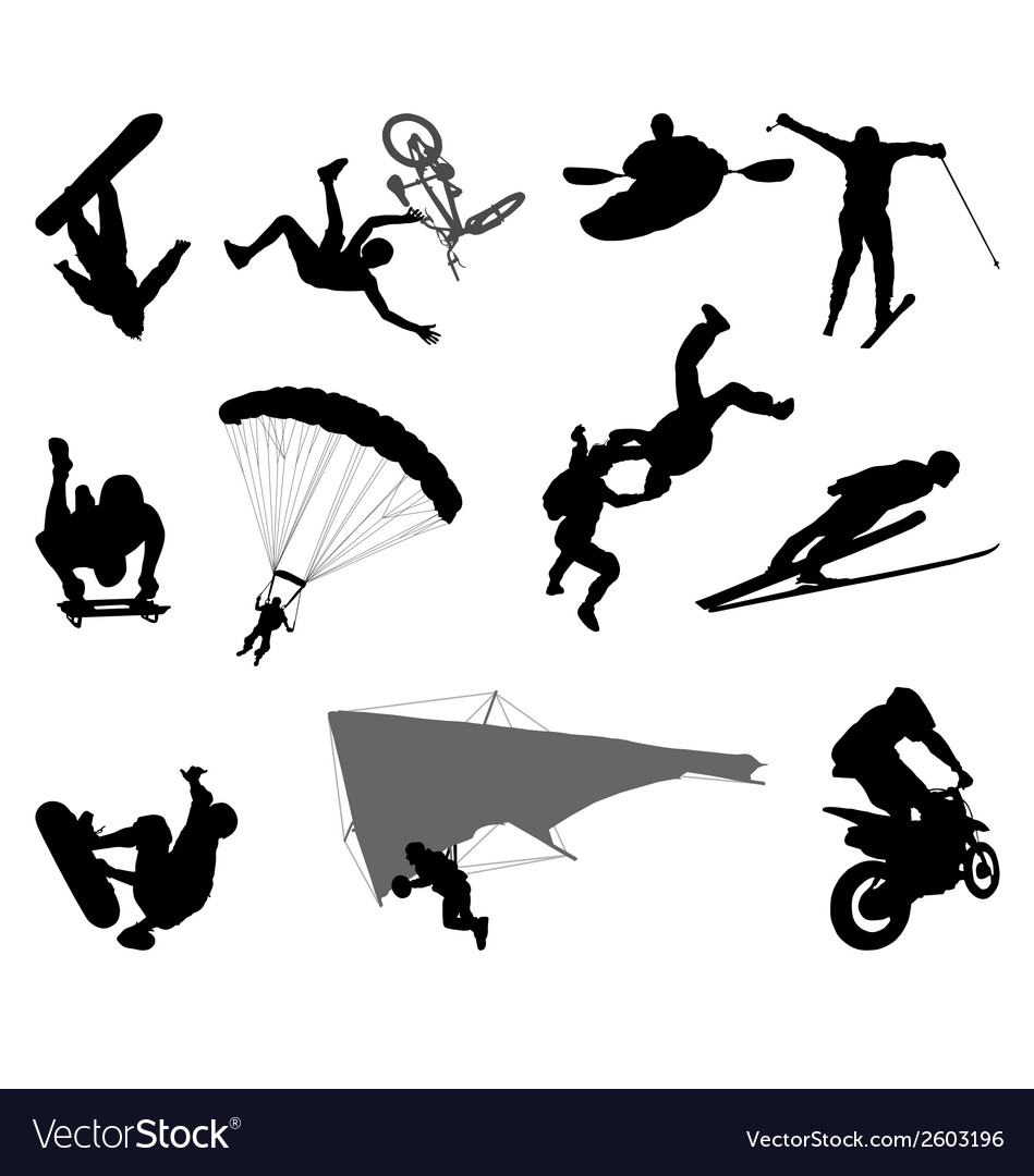 Extreme sports vector | Price: 1 Credit (USD $1)