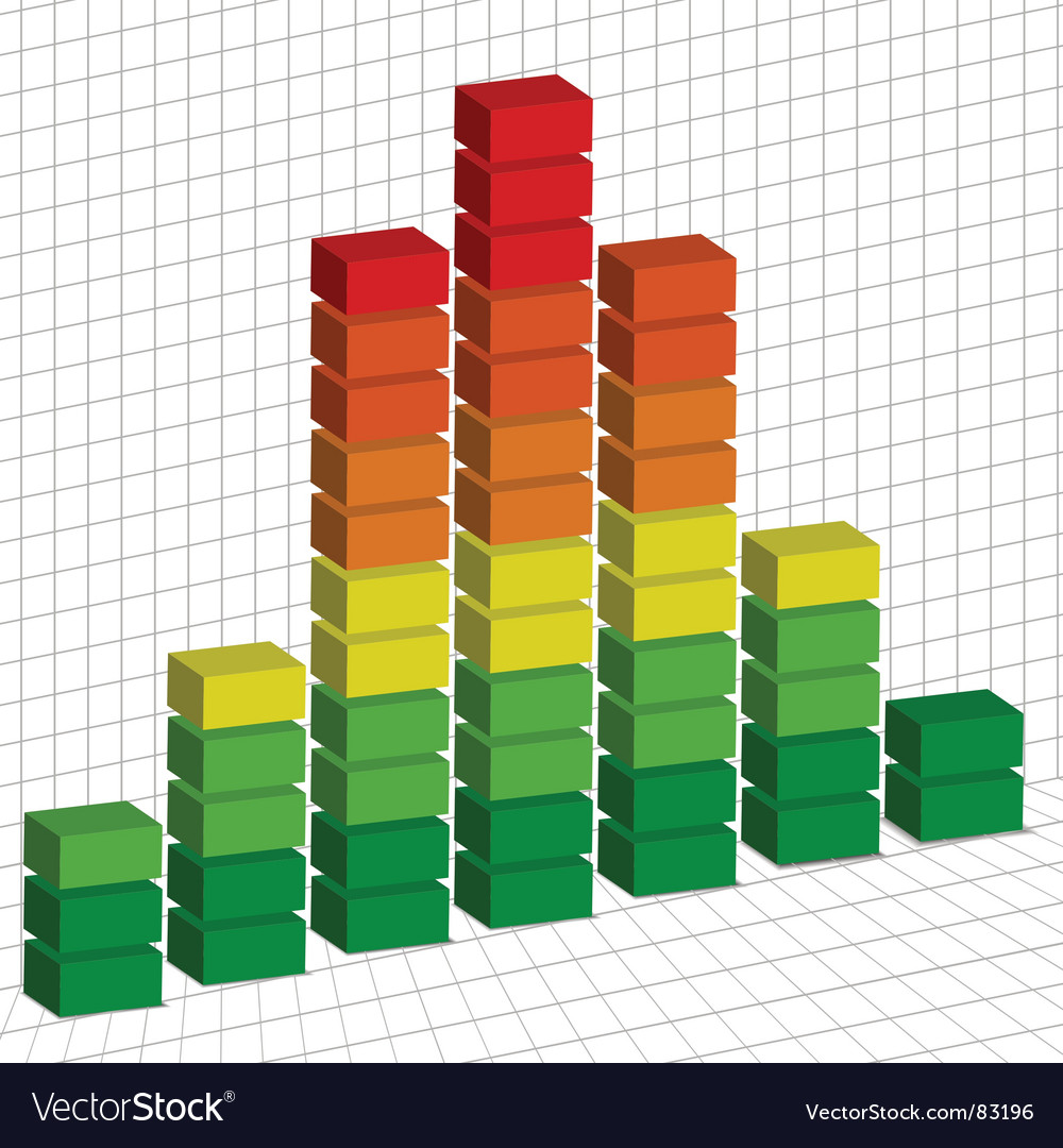 Graph 3d vector | Price: 1 Credit (USD $1)