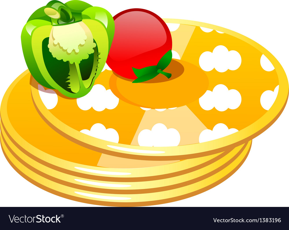 Icon pancake vector | Price: 1 Credit (USD $1)