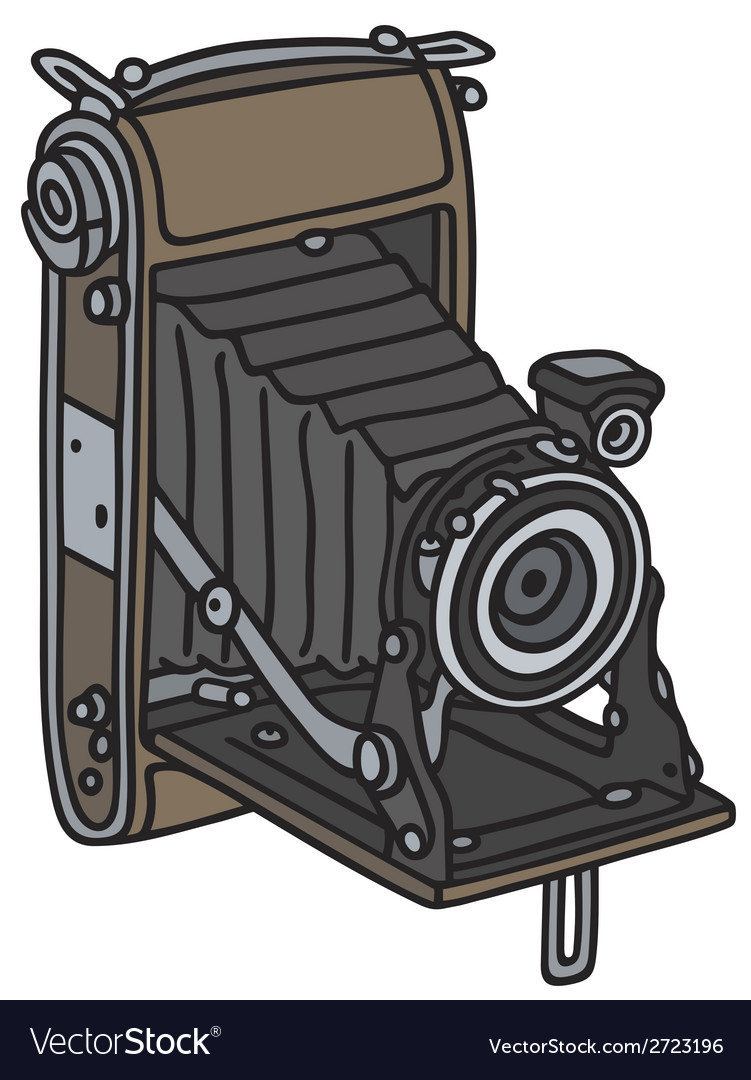 Old photographic camera vector | Price: 1 Credit (USD $1)