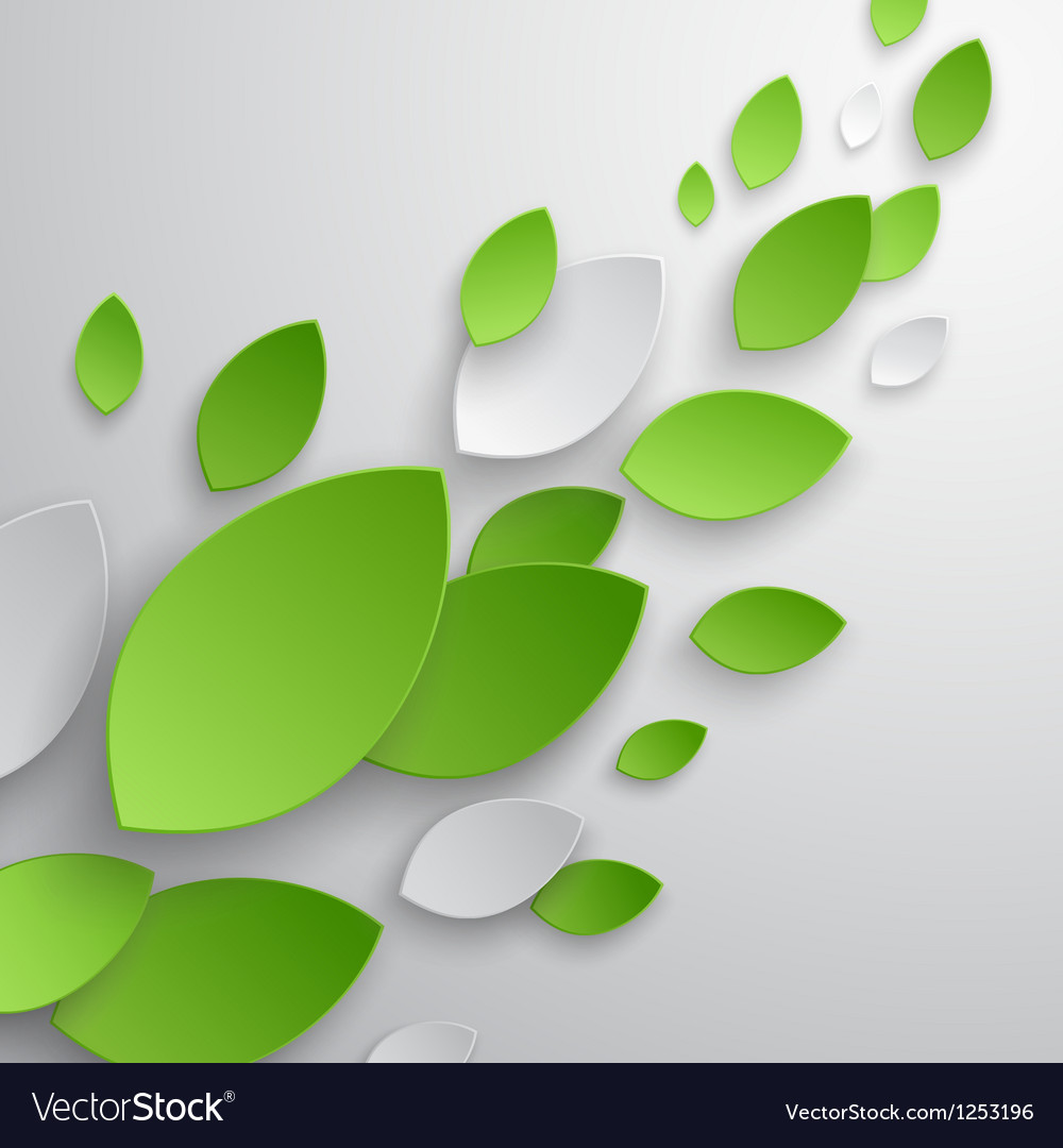 Paper leaves vector | Price: 1 Credit (USD $1)