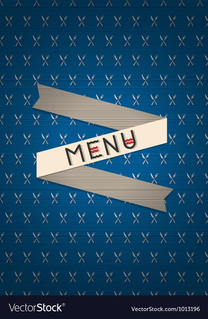 Restaurant card menu design vector | Price: 1 Credit (USD $1)