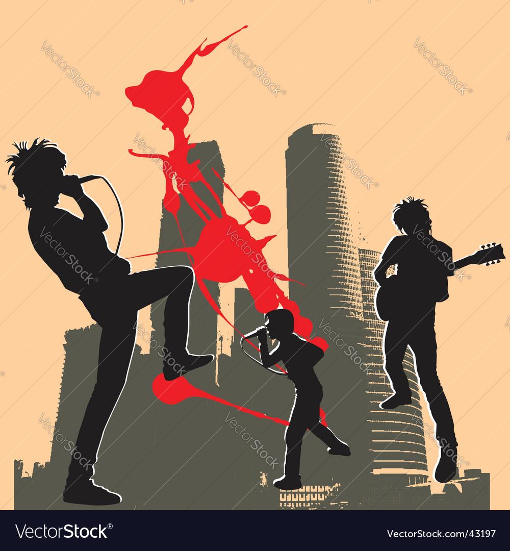 Rockers vector | Price: 1 Credit (USD $1)