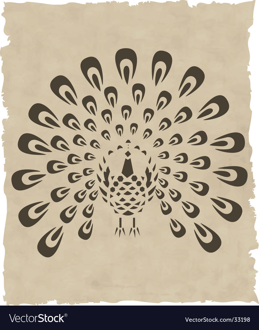 Asian bird vector | Price: 1 Credit (USD $1)