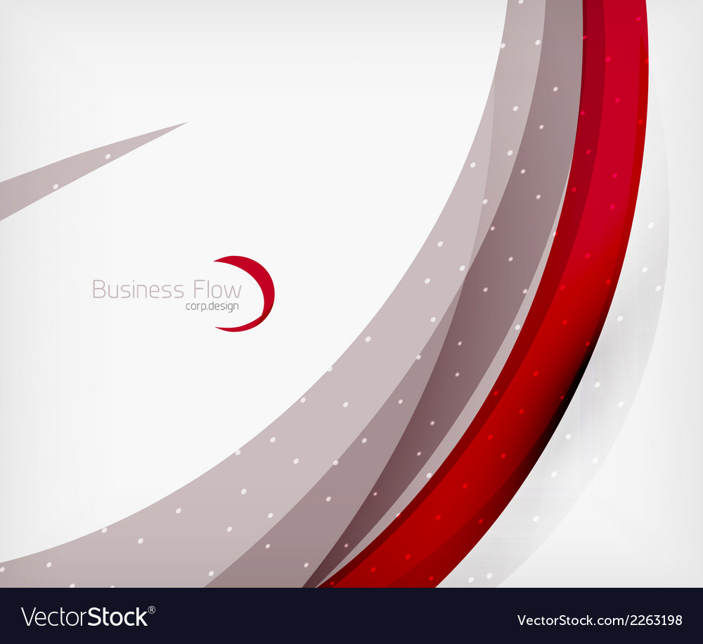Corporate business flowing lines vector | Price: 1 Credit (USD $1)