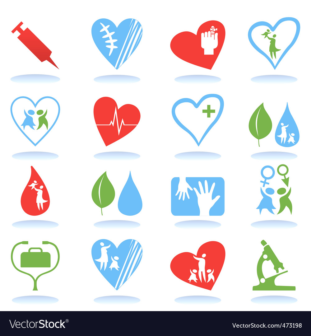 Medical icons7 vector | Price: 1 Credit (USD $1)