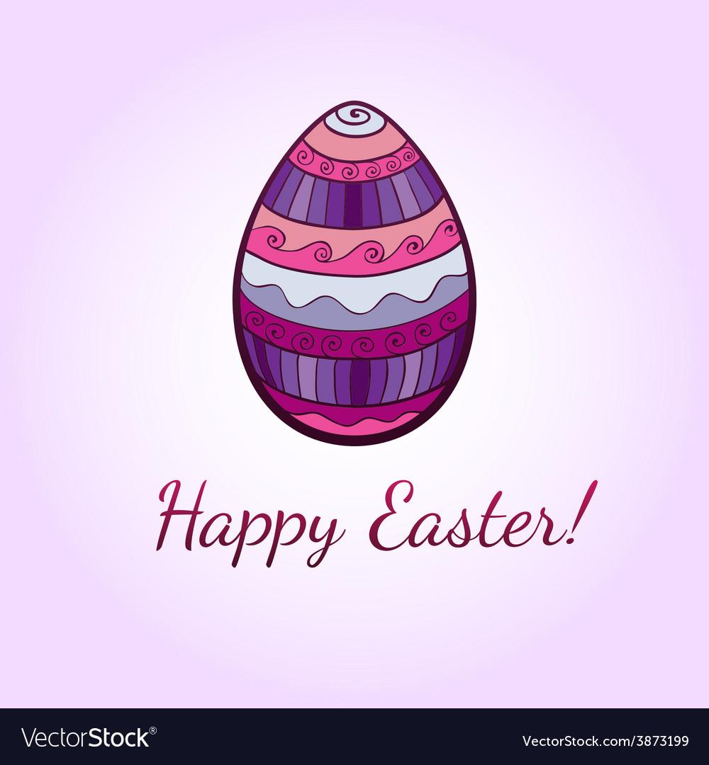 Ornamental easter egg vector | Price: 1 Credit (USD $1)