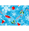 Christmas winter style elements background vector