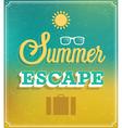 Summer escape vector