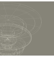 Conceptual design template abstract background vector