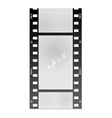 Film for the photo on a white background vector