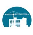 Construction building vector