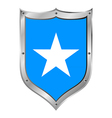 Somalia flag button vector