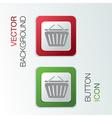 Cart online store vector